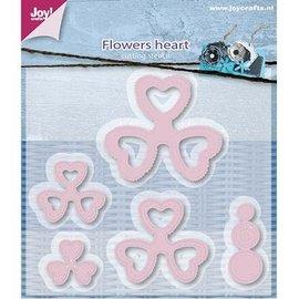 Joy!Crafts / Hobby Solutions Dies Cutting dies, Mery's hart bloem