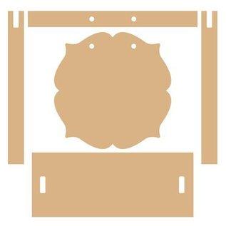 Holz, MDF, Pappe, Objekten zum Dekorieren MDF dekorative Bilderrahmen