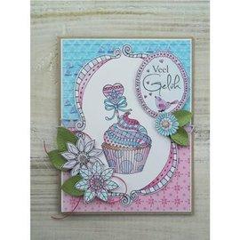 Stempel / Stamp: Transparent Transparent stamp: Doodle Cupcake