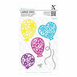 Docrafts / X-Cut Stanzschablonen: Luftballons