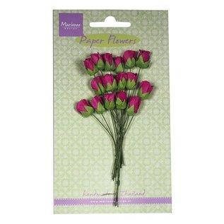 BLUMEN (MINI) UND ACCESOIRES Rose buds, Medium Pink