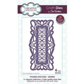 CREATIVE EXPRESSIONS und COUTURE CREATIONS Cutting dies: decorative frame