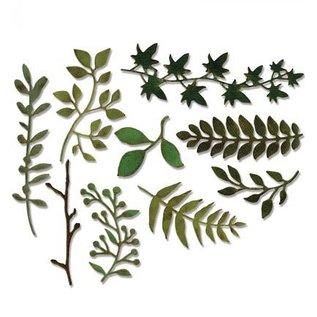Sizzix Stan skabeloner: forskellige Planter