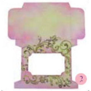 BASTELSETS / CRAFT KITS Verpackungs-Schablone Teelichtbox