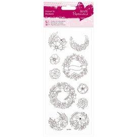 Sticker Adesivi verniciabili: Garland