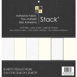 DCWV und Sugar Plum Designersblock 30,5 x 30,5 cm: Auto-adhésif en tissu