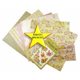 BASTELSETS / CRAFT KITS Scrapbooking Set: Rose romantiche
