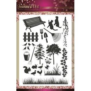 Stempel / Stamp: Transparent Transparent stamp: Jeannine's Art - Garden Classics