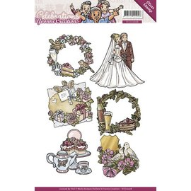 Yvonne Creations Transparent stempel: Celebrations, Celebrations