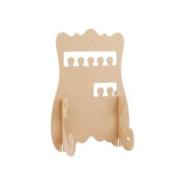 Objekten zum Dekorieren / objects for decorating decorate jewelry stand, MDF, for
