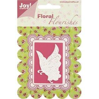 Joy Crafts, découpage et emboutissage papillon pochoir.