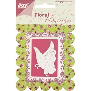 Joy Crafts, Schneide- und Präge Schablone Schmetterling.