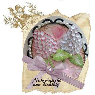 Joy Crafts, snijden en reliëf stencil Mery stencil bloem, gebouw