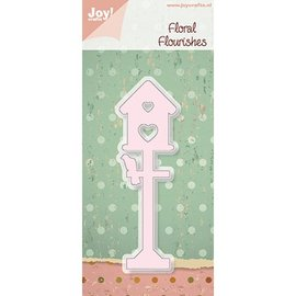 Cutting and embossing stencil Birdhouse