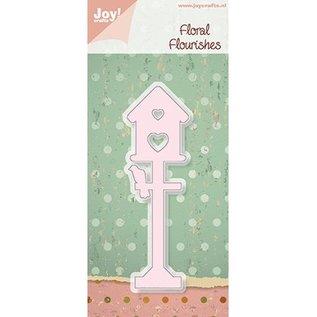 Joy Crafts, skæring og prægning stencil Birdhouse