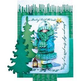 Marianne Design Limpar selos, música neve