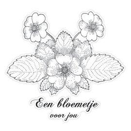 Stempel / Stamp: Transparent Transparent-Stempel, Flower