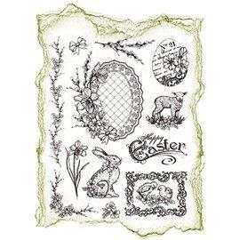 My paperworld (Viva Decor) matrices de silicone, les dessins de Pâques nostalgiques