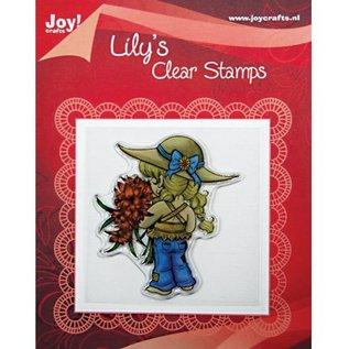 "Joy!Crafts / Jeanine´s Art, Hobby Solutions Dies /  Transparent-Stempel, ""Lily mit Blumen"","