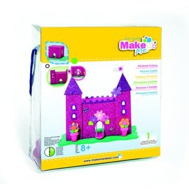 Kinder Bastelsets / Kids Craft Kits Bastelset, KitsforKids Moosgummi Glitter Schloss.