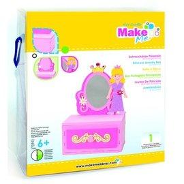 Kinder Bastelsets / Kids Craft Kits Artesanato Kit, KitsforKids Moosg.3D Prinzess.Schmuckdose.