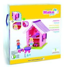 Kinder Bastelsets / Kids Craft Kits Artesanato Kit, KitsforKids Moosg.3D casa de bonecas.