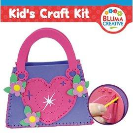 Kinder Bastelsets / Kids Craft Kits Craft Kit: Heart Bag for Kids