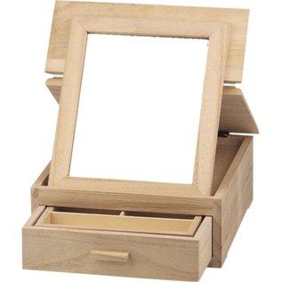 Objekten zum Dekorieren / objects for decorating Smykkeskrin, lavet af træ til dekoration.