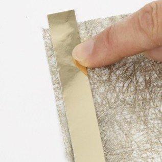 Karten und Scrapbooking Papier, Papier blöcke 1 Blatt Faserpapier, 21x30 cm, gold, 31g