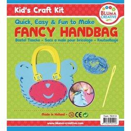 Kinder Bastelsets / Kids Craft Kits Bastelset Bärchen Tasche für Kinder - Moosgummi