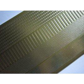 Sticker Autocollants, les marges étroites, de l'or-or, taille 10x23cm