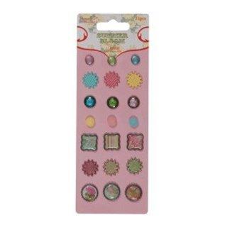 Embellishments / Verzierungen bonbons - fleur d'été par Stephanie Dyment