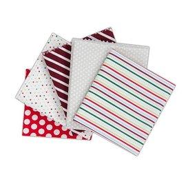 Textil Fabuloso pacote Fat Quarters contém 5 peças 460 x 560 milímetros Tecido
