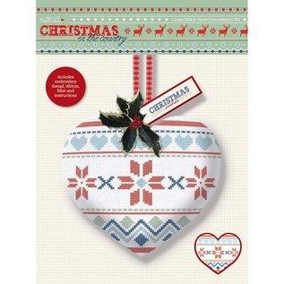 Komplett Sets / Kits Kreuzstich Herz Dekoration Kit - Weihnachten im Land - Fair ist
