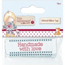 Embellishments / Verzierungen Etichette in nastro cuciti (10) - Tilly Daydream