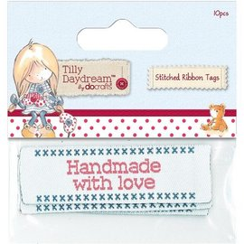 Embellishments / Verzierungen Étiquettes de bandes cousues (10) - Tilly Daydream