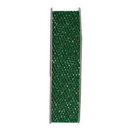 DEKOBAND / RIBBONS / RUBANS ... Fita, brilho acetinado, verde, 3 metros.