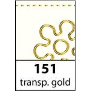 Sticker Ziersticker, gold