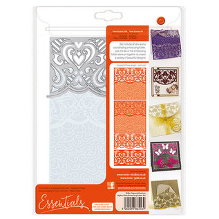 Tonic Stamping template set and embossing folder
