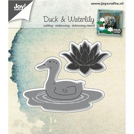 Joy!Crafts / Jeanine´s Art, Hobby Solutions Dies /  Punching template: Duck and water lily
