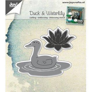 Joy!Crafts / Hobby Solutions Dies Stansning skabelon: Duck og åkande