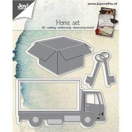 Joy!Crafts / Hobby Solutions Dies modelo de perfuração: Mover 3D Definir