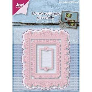 Joy!Crafts / Hobby Solutions Dies modèle de poinçonnage: rectangles de cadre décoratif