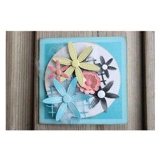 Joy!Crafts / Jeanine´s Art, Hobby Solutions Dies /  Stansning skabelon: Blomster