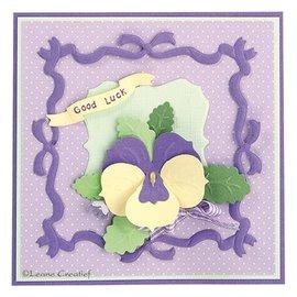 Leane Creatief - Lea'bilities Ponsen sjabloon: maak 3D Flowers