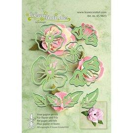 Leane Creatief - Lea'bilities faire des fleurs 3D: modèle de poinçonnage