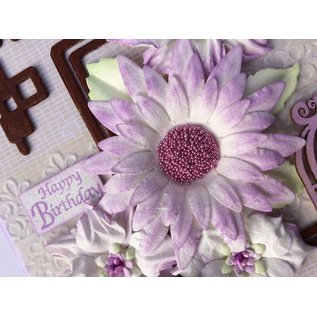 Leane Creatief - Lea'bilities Punching template: make 3D Flowers