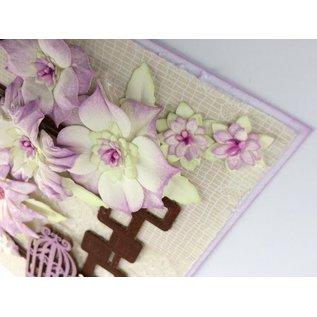 Leane Creatief - Lea'bilities Stansning skabelon: lave 3D blomster