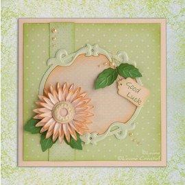 Leane Creatief - Lea'bilities modello di punzonatura: fare fiori 3D