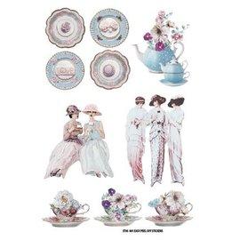 Embellishments / Verzierungen Cena Etiqueta: Tea Party